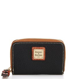 credit card fashion best credit card Dooney Bourke Pebble Collection Leather Zip Around Credit Card Case - Black N/A My Wallet, Credit Card Wallet, Zip Around Wallet, Compare Credit Cards, Best Credit Cards, Credit Card Design, Credit Card Application, Business Credit Cards, Dooney Bourke