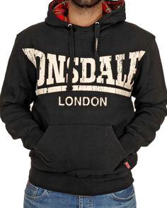 Lonsdale London Whitechapel - Sudadera para hombre 8db09424291fd