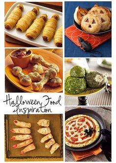 Halloween Food - Find more Halloween Party Ideas at http://www.birthdayinabox.com/party-ideas/guides.asp?bgs=71