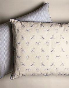 Bertie Print Dog Bed - Large