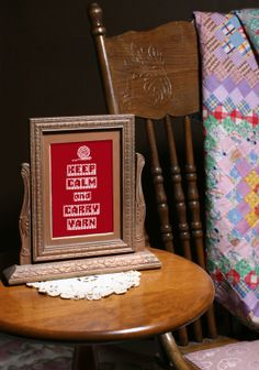 """Keep Calm and Carry Yarn"" Printable knitting pic. Instant download.  www.etsy.com/listing/171895918/funny-knitting-quote-keep-calm-and-carry"