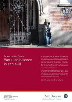 """Independant Law Firm: """"WORK LIFE"""" Print Ad by 707 Brand Communications"""