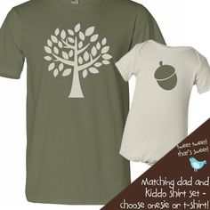 Perfect for our future New Hope acorn and his/ her daddy :)     (http://www.zoeyspersonalizedgifts.com/products/customized-acorn-doesnt-fall-far-from-tree-daddy-organic-tshirt-and-baby-onesie-or-tshirt-set.html)
