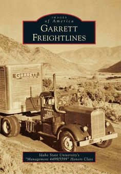 Garrett Freightlines began in 1913 in Pocatello, Idaho, as the first motorized luggage transfer service for railroad passengers. Starting with the purchase of a single one-cylinder REO truck, the comp
