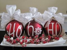 DIY Christmas decorations by shopportunity