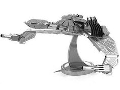Fascinations Metal Earth Star Trek Klingon Bird-Of-Prey 3D Puzzle Model  #Fascinations