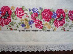 Com esses lindos tecidos fiz essas toalhas. São práticas para seu dia a dia. Ficaram bem charmosas!!!!!!!!!!