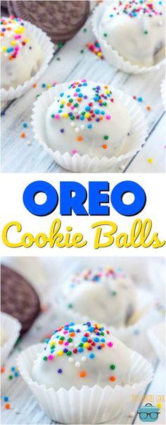 No-Bake Oreo Cookie Balls