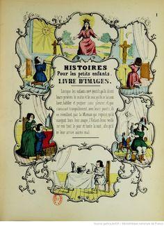 Livre d'images : histoires pour les petits enfants / imitées de l'allemand, par A. Dembour, 1850