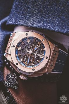 "watchanish: ""Now on WatchAnish.com - Our US Tour with Hublot. """