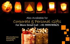 👉Buy Himalayan Rock Salt Lamp for Healing Benefits and Decoration💥 🎉 👉Also Available for Corporate & Personal Gifts 💥 🎉 For More Detail Call us >> 👉 9999789625 (Calls only) #HimalayanRockSaltLamp #SaltLamp #NaturalAirPurifier #HomeDecorative #LowestPrice #DiscountPrice #CorporateGift #PersonalGift #GiftItem Himalayan Rock Salt Lamp, Natural Air Purifier, Salt Rock Lamp, Corporate Gifts, Benefit, Personalized Gifts, Healing, Candles, Detail