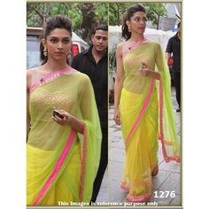 Deepika Padukone Bollywood Replica Saree