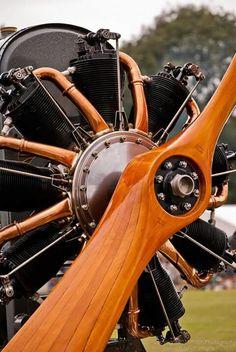 1918 Le Rhone rotary engine