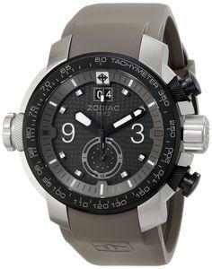 Amazon.com: Zodiac ZMX Men's ZO8525 Special Ops Analog Display Swiss Quartz Grey Watch: Clothing