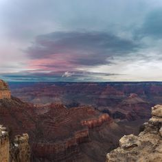 Sunrise from the South Rim Reflected Off the Clouds [OC] [5634 x 5634]