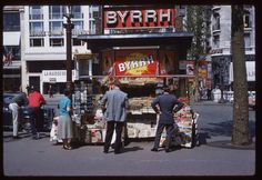 The Champs Elysees c.1960