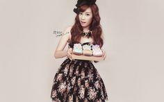 Girls Generation Taeyeon - Born in South Korea in 1989. #Fashion #Kpop