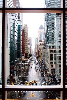 Window framing of New York