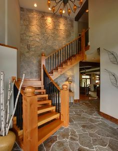 10 Simple, elegant and diverse wooden staircase design ideas