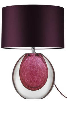InStyle Decor.com Pink Table Lamps, Designer Table Lamps, Modern Table Lamps
