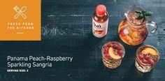 Panama Peach-Raspberry Sparkling Sangria