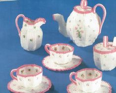 Crochet Pattern PDF Teatime Candle Doily Set Etsy in