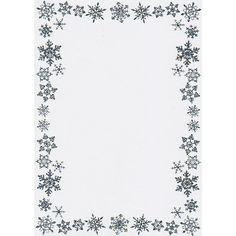 snowflake border - Google Search