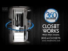 The 360 Organizer by Lazy Lee Spinning Closet Organization System