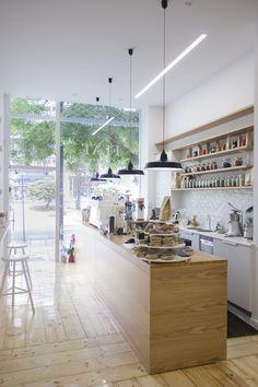 Flat White artisan cafe, Athens, Greece