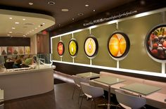 Qoola Frozen Yogurt Bar - We're officially hooked!  A fresh, healthier take on dessert, customized by you.  Yes, please!