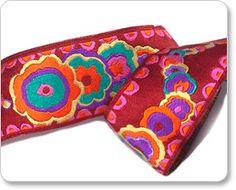 Kite Tails decorative ribbon from Kaffe Fassett!