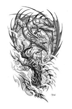 Tree Dragon by Loren86.deviantart.com on @DeviantArt