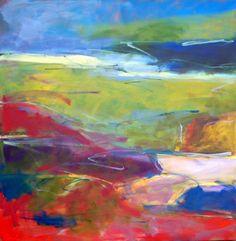 """Dimitri Kourouniotis - """"Meditations On A Horizon"""" 48x48 [SOLD]"""
