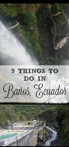 Have you been to the swing at the end of the world? Check out these things to do in Baños, Ecuador!