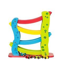 Houten rollerbaan ❤️ (Oma Jannie)