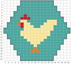 and knitting Knitting Charts, Knitting Stitches, Knitting Patterns, Cross Stitching, Cross Stitch Embroidery, Cross Stitch Patterns, Vintage Embroidery, Fair Isle Chart, Tiny Cross Stitch