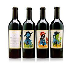 Absurd wine packaging. Design & illustration. | Craig Frazier