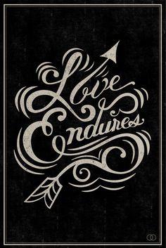 Love Endures...to a certain extent