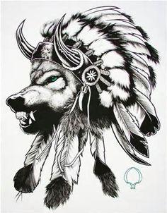 Indian Bear Headdress Tattoo x3cbx3enative americanx3c/bx3e girl ...