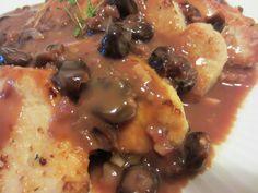 Renee's Kitchen Adventures: Turkey Cutlets with Cherry Sauce