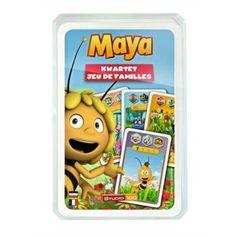 Gek op spelletjes? Dit Maya de Bij kwartetspel is een erg leuk spelletje om te doen met je vriendjes in de pauze.  #kwartet #spelletjes #spelen #Personalgifts #MayadeBij
