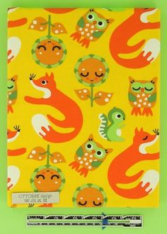 FOXS and OWLS organic cotton elastane single от Ottobredesign