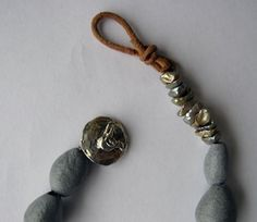 Make a Cool Leather Clasp! - Inside Jewelry Stringing Magazine - Blogs - Beading Daily #leather