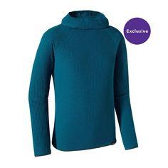 Patagonia Men\'s Merino Air\u2122 Hoody - Underwater Blue UWTB
