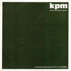 Various Artists - Visual Impact (KPM 1976)