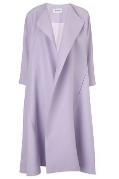 Maticevski Lilac Silk Protector Coat, $2,295; avenue32.com   - ELLE.com
