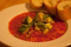Spicy Chilled Gazpacho