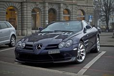 To start, here is a Mercedes SLR McLaren, one of the few painted blue.… - https://www.luxury.guugles.com/to-start-here-is-a-mercedes-slr-mclaren-one-of-the-few-painted-blue/