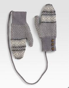 rag and bone mittens