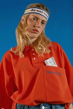 T-shirt Tips Please by Ader Error 90s Fashion, Runway Fashion, Fashion Show, Fashion Outfits, Womens Fashion, Labo Photo, Fashion Details, Fashion Design, Editorial Fashion